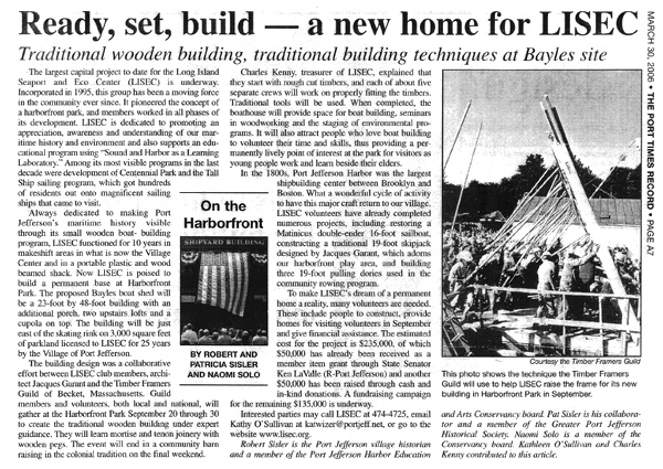 The Port Times Record | Ready, set, build – a new home for LISEC