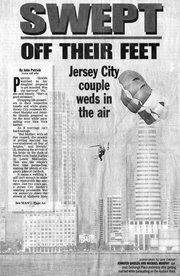 The Jersey Journal, Casey Gobbi - Swept Off Their Feet
