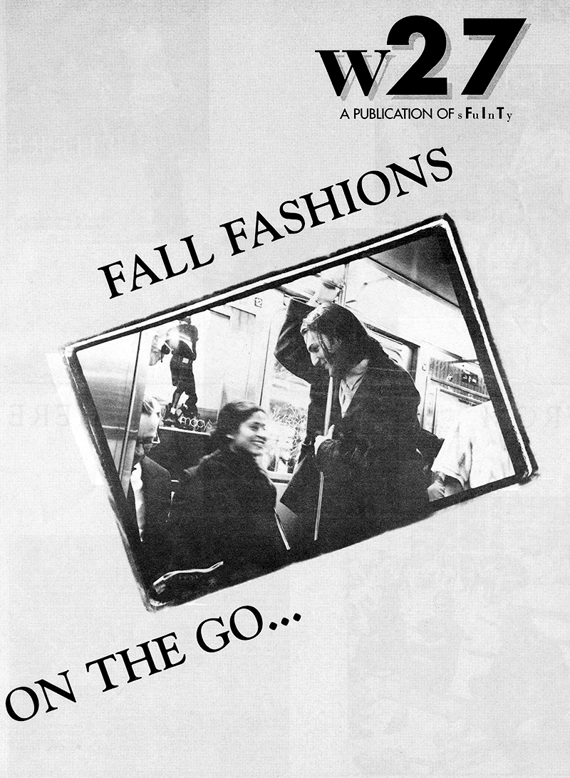w27 | Fall Fashions - On The Go…